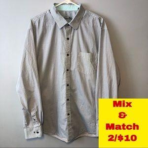 Tasso Elba Button Down Shirt Size XXL